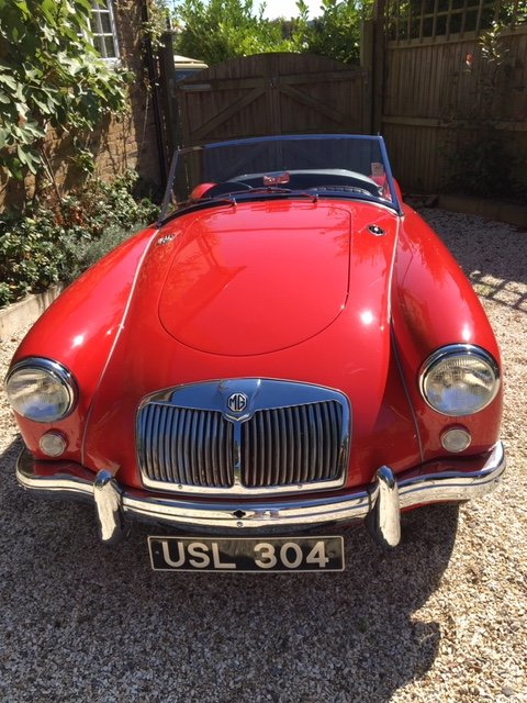 1955 MGA CONCOURS condition For Sale (picture 2 of 6)
