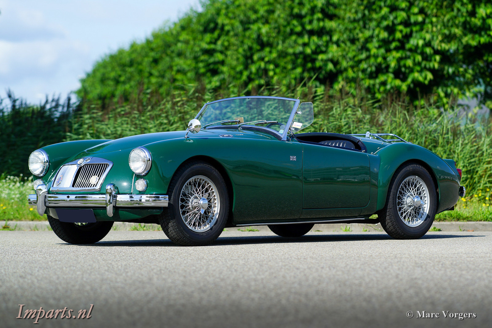 1960 very nice MGA 1600 LHD For Sale (picture 1 of 6)