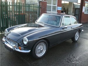 1969 MGC GT 2.9l Manual overdrive Grampian Grey For Sale