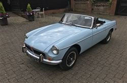 1970 B 1800 Roadster- Barons Friday 20th September 2019 SOLD by Auction