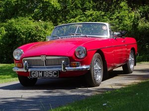 1965 MG B Roadster For Sale by Auction