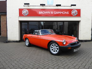 1979 MGB ROADSTER, LOW MILEAGE CAR For Sale