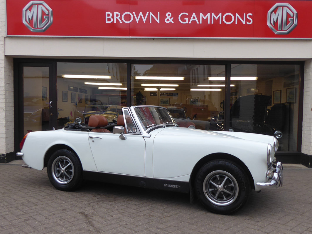 1974 MG MIDGET 1275 For Sale (picture 1 of 6)