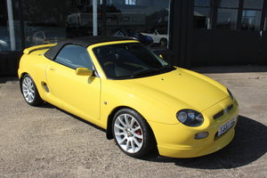2001 MGF TROPHY 160,ONLY 29000 MILES,TT EXHAUST,HEADGASKET For Sale