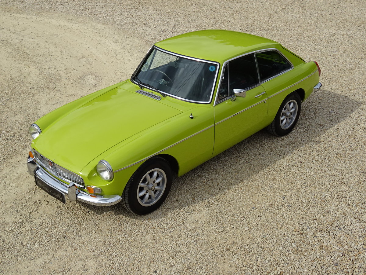 MGB GT – Overdrive/69,000 warranted miles For Sale (picture 1 of 6)