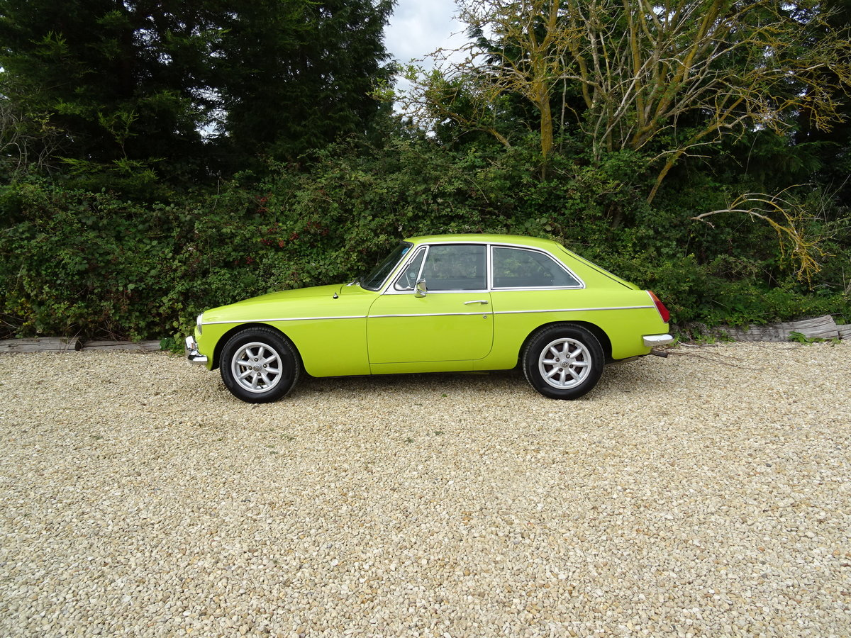 MGB GT – Overdrive/69,000 warranted miles For Sale (picture 4 of 6)