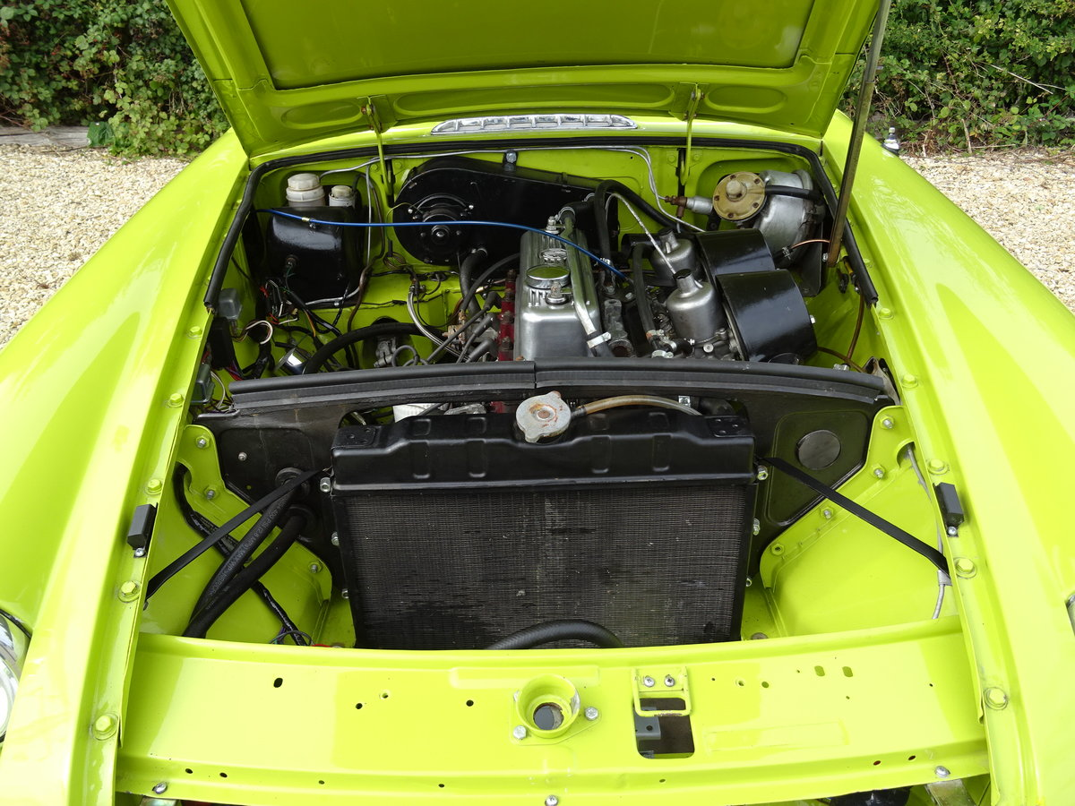 MGB GT – Overdrive/69,000 warranted miles For Sale (picture 6 of 6)