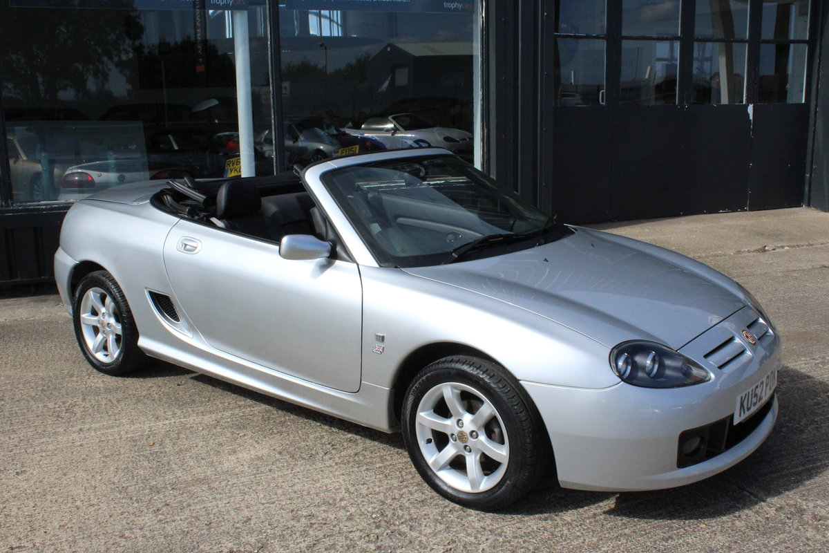 2002 MG TF 135, ONLY 17000 MILES,FULL LEATHER,NEW HEADGASKET For Sale (picture 1 of 6)