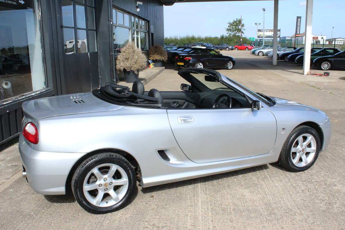 2002 MG TF 135, ONLY 17000 MILES,FULL LEATHER,NEW HEADGASKET For Sale (picture 4 of 6)