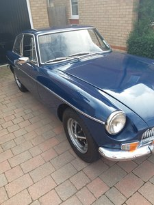 1967 MGB BGT with overdrive