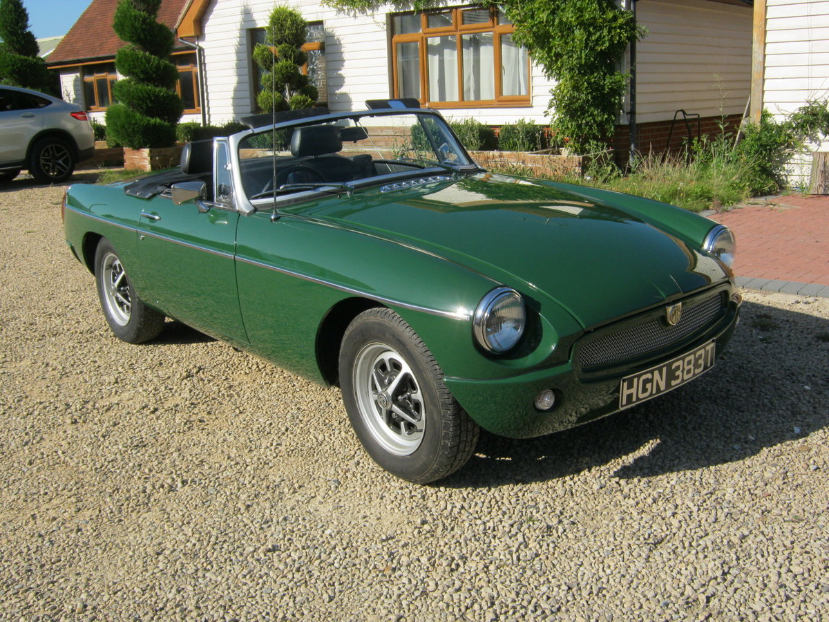 1979 MGB  For Sale (picture 1 of 6)