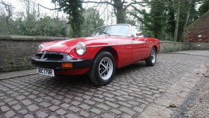 MGB Roadster 1977 Flamenco Red 67450 miles complete Rebuild For Sale