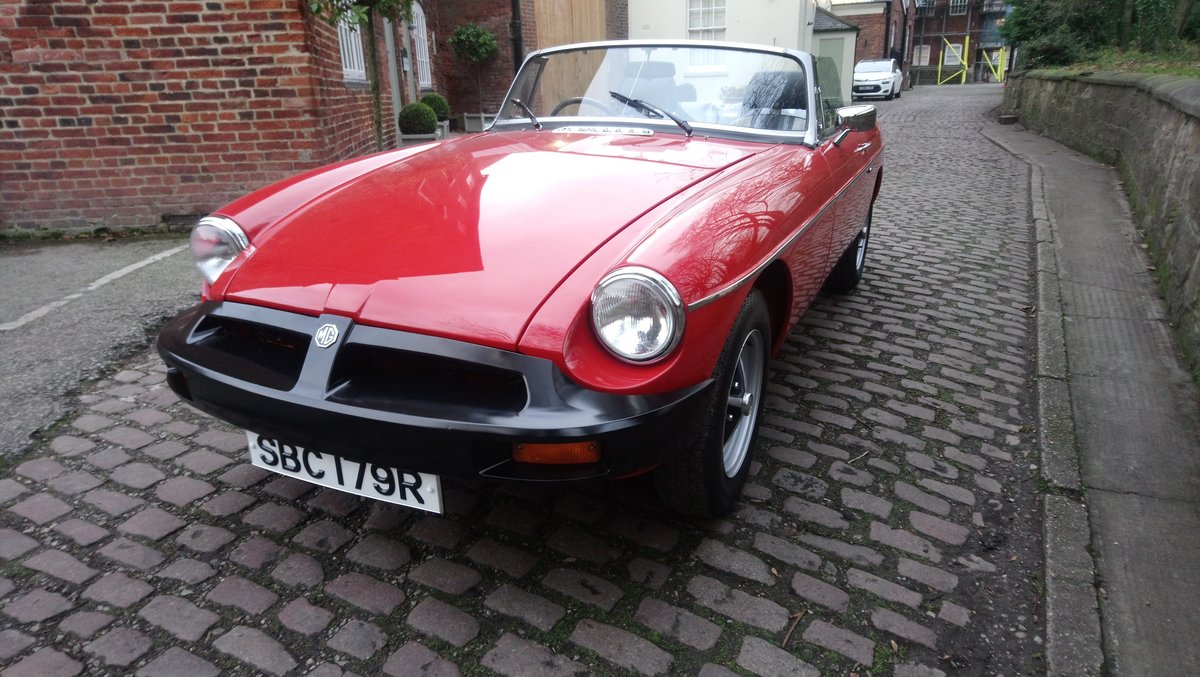 MGB Roadster 1977 Flamenco Red 67450 miles complete Rebuild For Sale (picture 6 of 6)