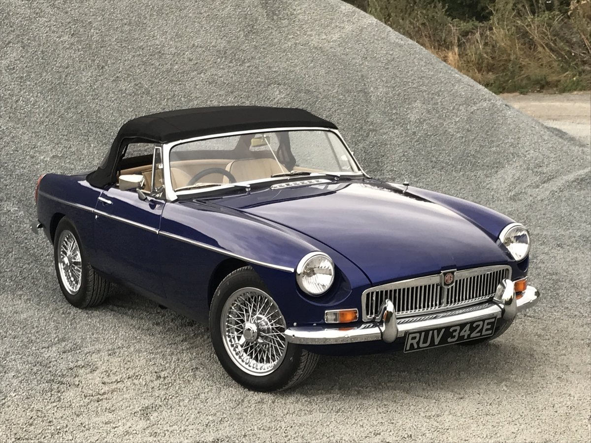 1971 MGB Roadster heritage shell rebuild For Sale (picture 1 of 10)