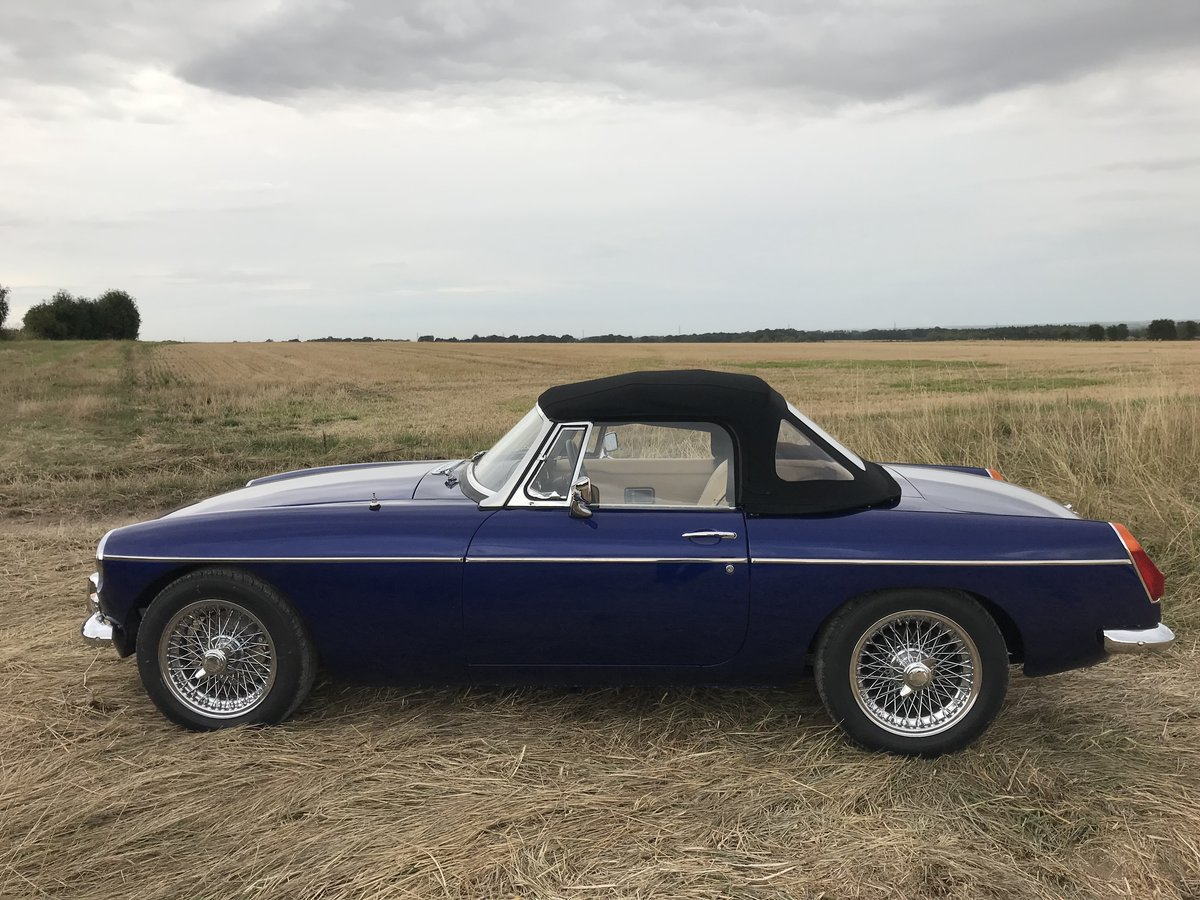 1971 MGB Roadster heritage shell rebuild For Sale (picture 10 of 10)