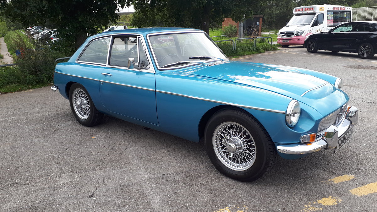 MGC in Blue with only 3 former keepers For Sale (picture 1 of 6)
