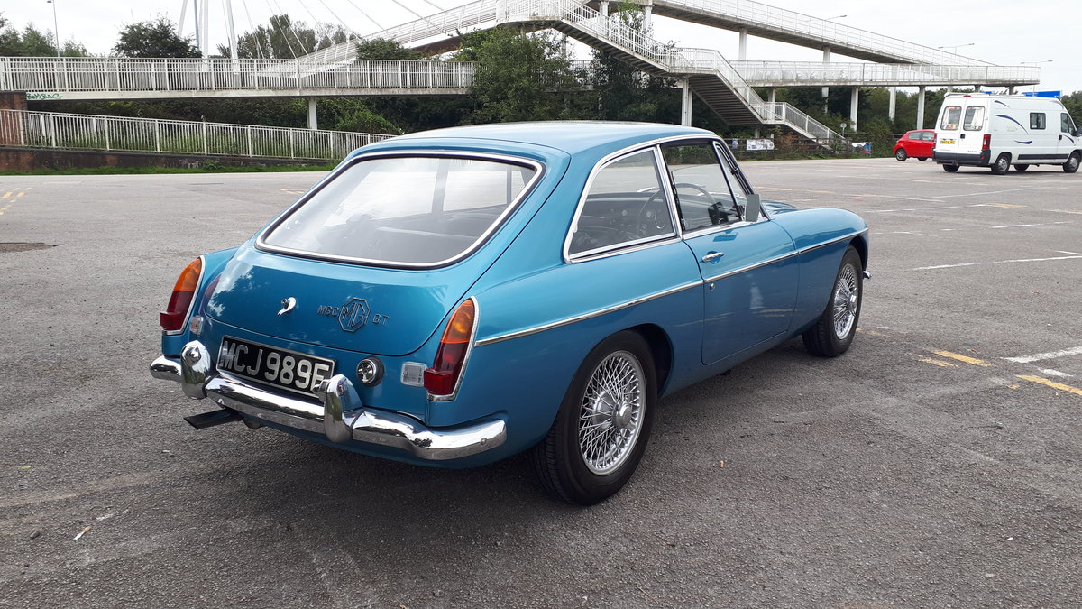 MGC in Blue with only 3 former keepers For Sale (picture 4 of 6)