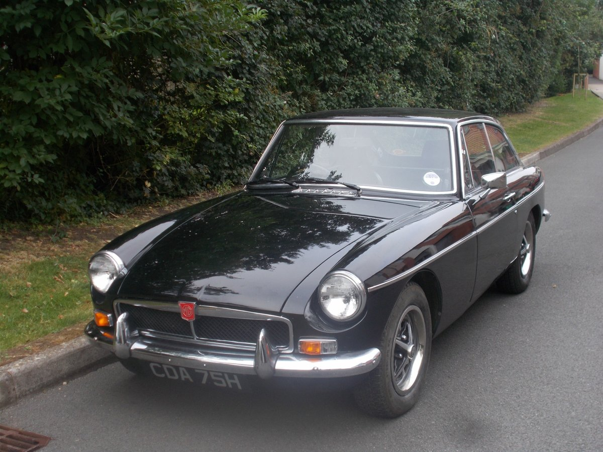1970 MGB-GT For Sale (picture 1 of 1)