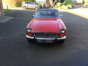 1972 MGB Roadster Totally restored For Sale