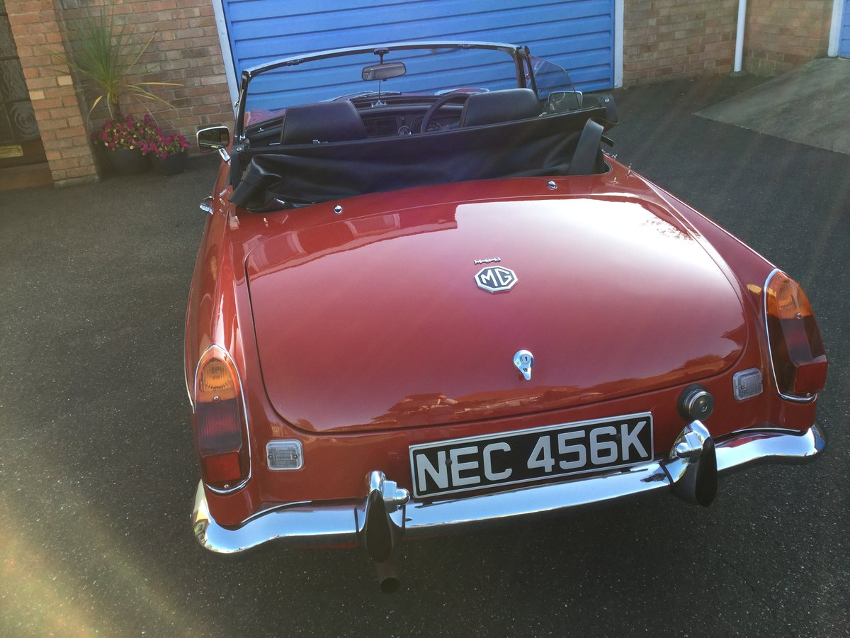 1972 MGB Roadster Totally restored For Sale (picture 6 of 6)