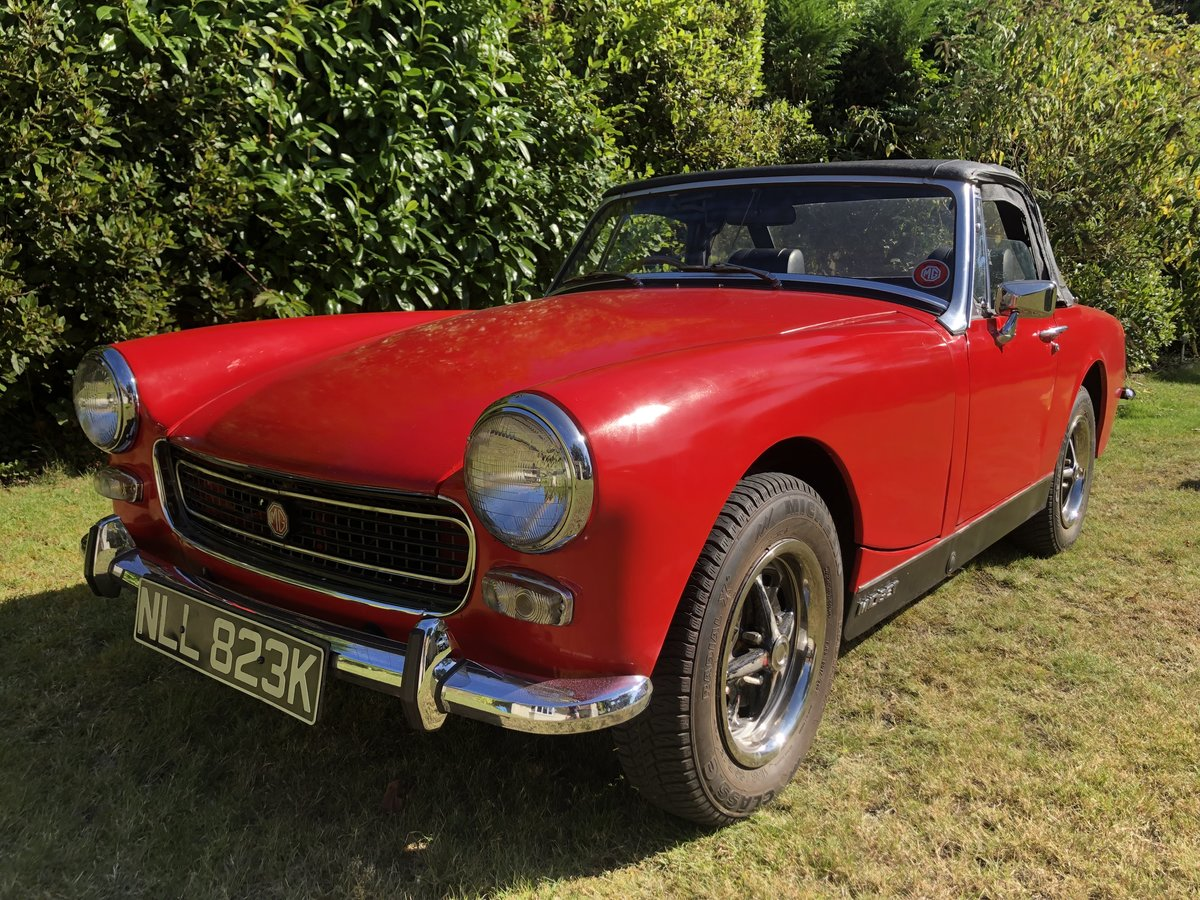 1972 MG Midget Mk111 1275. SOLD (picture 1 of 6)