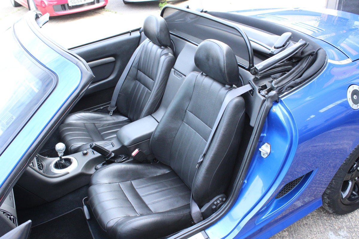 2003 MG TF 135,FULL LEATHER,GLASS WINDOW,35000 MILES For Sale (picture 6 of 6)