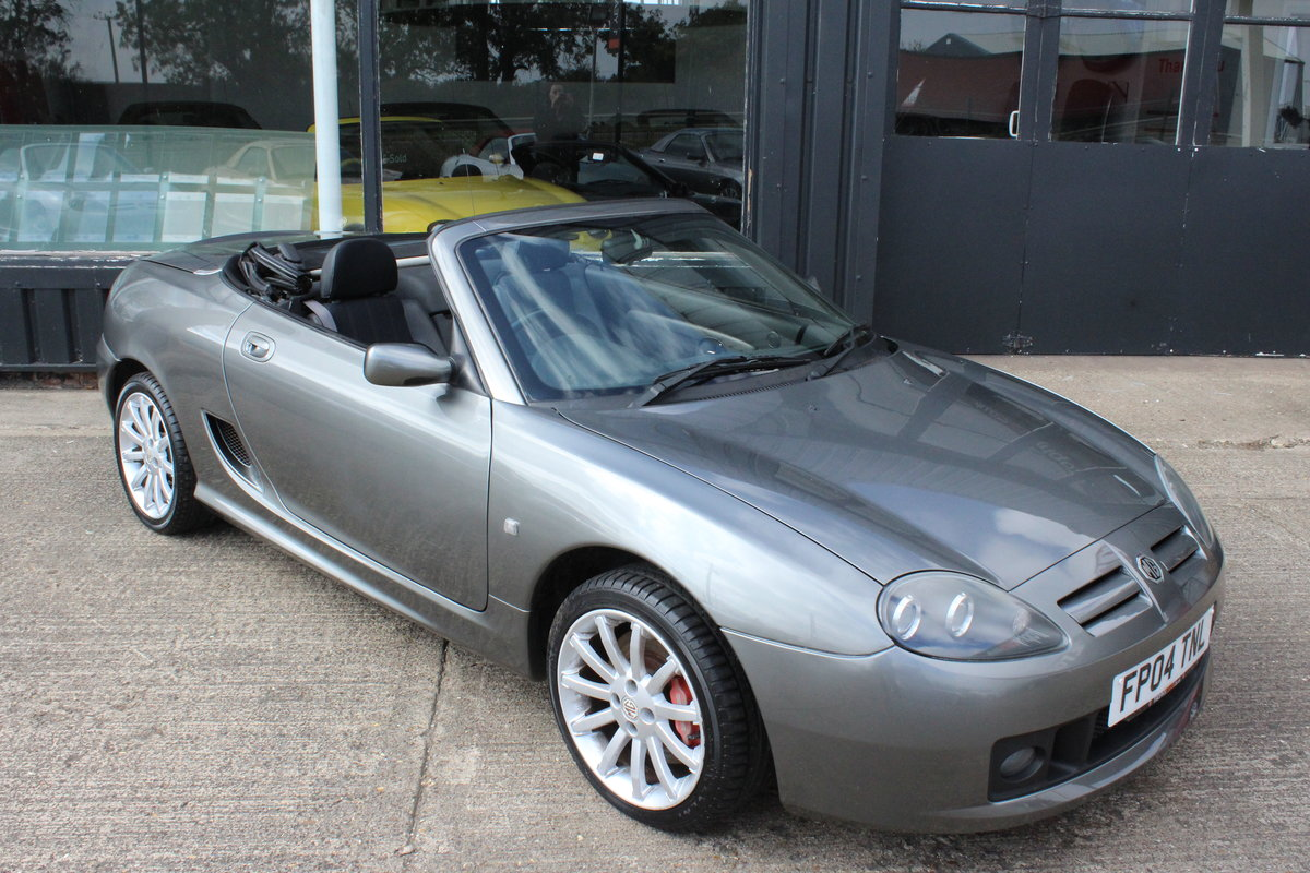 2004 MG TF 160, 47000 MILES,NEW HEADGASKET,1YR WARRANTY For Sale (picture 1 of 6)