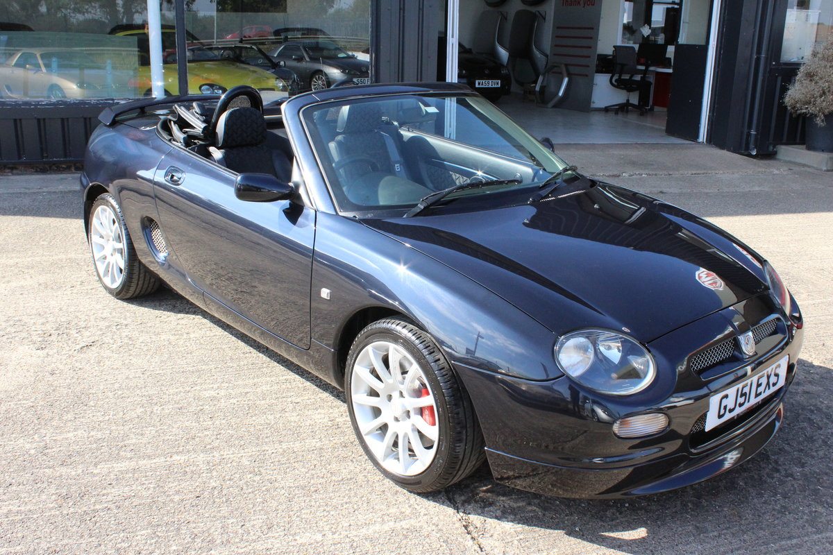 2001 MGF TROPHY 160,29K,SPORTS EXHAUST,HOOPS,NEW HEADGASKET  For Sale (picture 1 of 6)