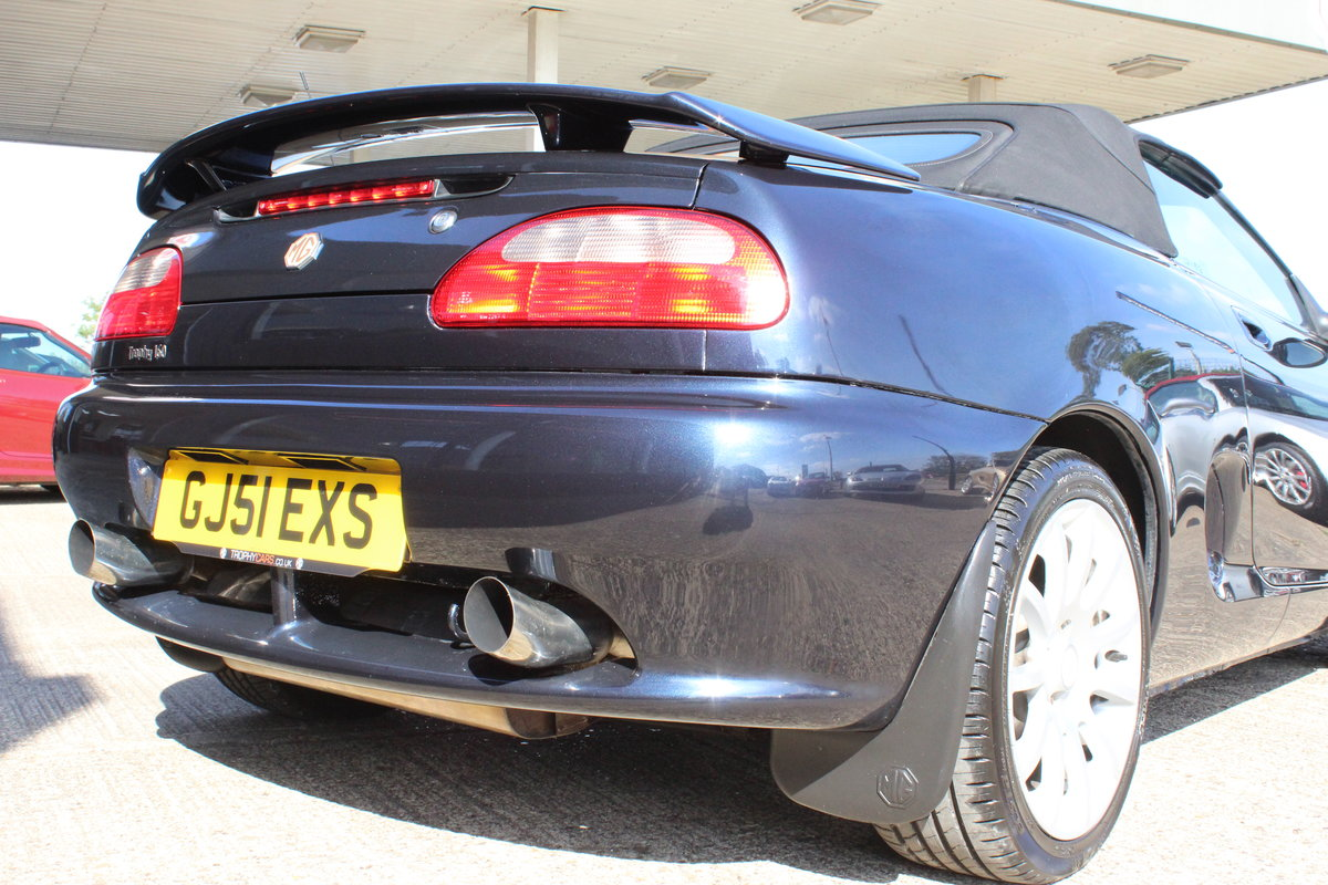 2001 MGF TROPHY 160,29K,SPORTS EXHAUST,HOOPS,NEW HEADGASKET  For Sale (picture 4 of 6)