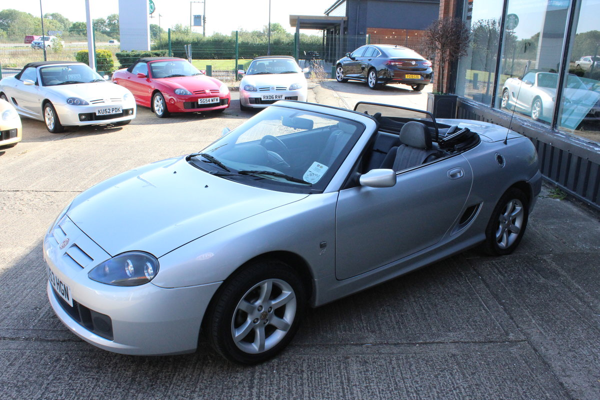 2003 MG TF 135,ONLY 19000 MILES,HARDTOP,NEW HEADGASKET For Sale (picture 2 of 6)