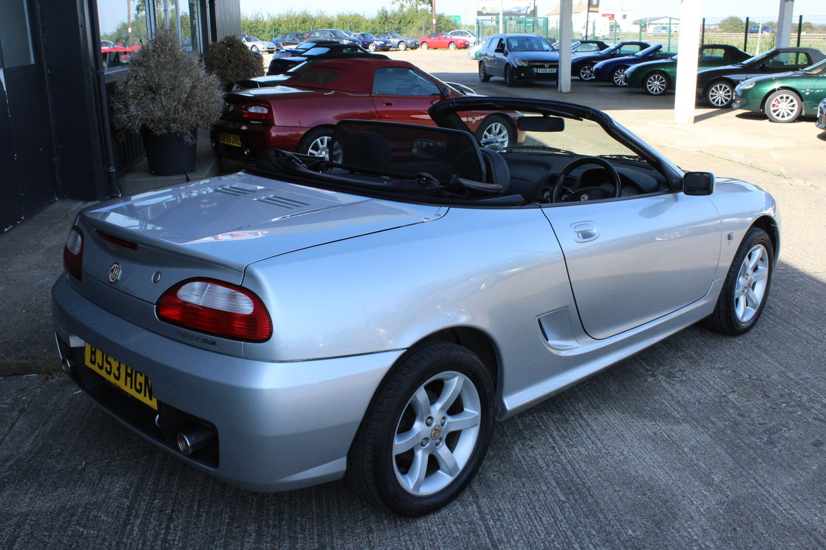 2003 MG TF 135,ONLY 19000 MILES,HARDTOP,NEW HEADGASKET For Sale (picture 4 of 6)