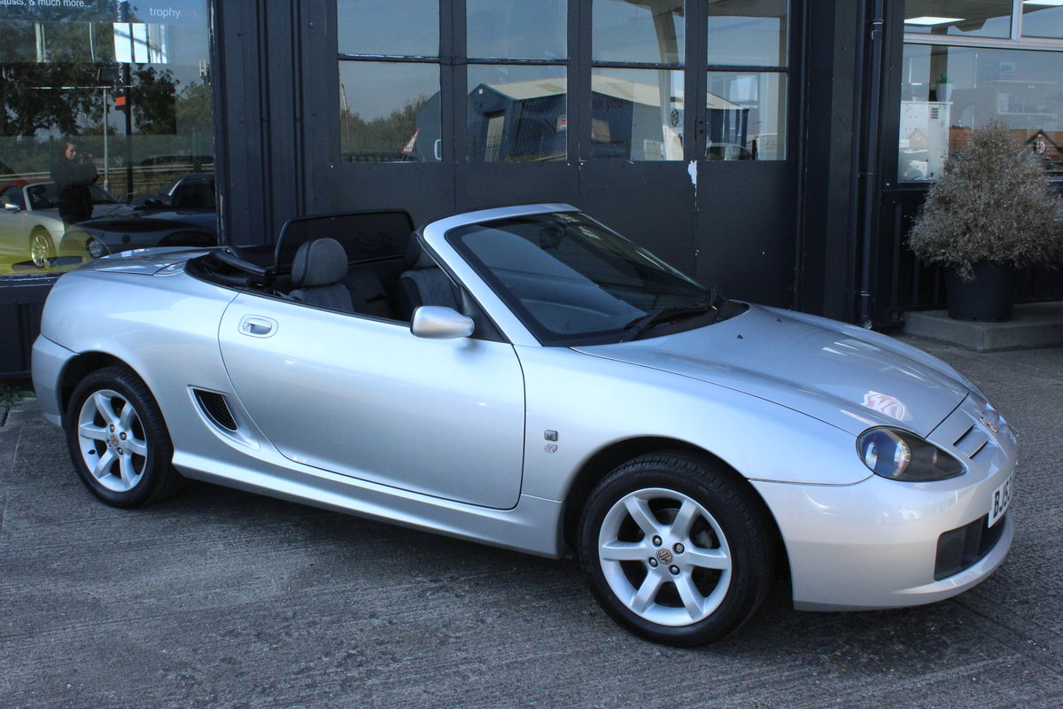 2003 MG TF 135,ONLY 19000 MILES,HARDTOP,NEW HEADGASKET For Sale (picture 5 of 6)