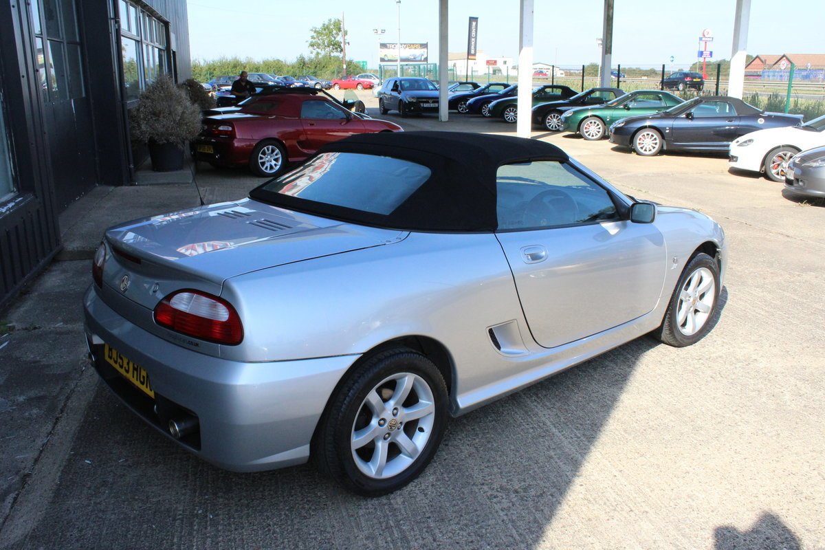 2003 MG TF 135,ONLY 19000 MILES,HARDTOP,NEW HEADGASKET For Sale (picture 6 of 6)
