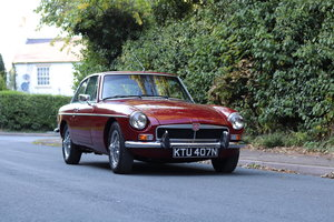 1975 MGB GT  - Overdrive, Leather trim, CWW