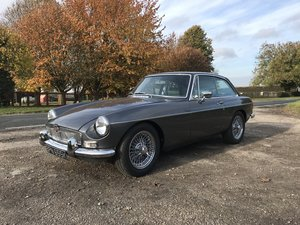 MGB GT Fully rebuilt on new Heritage bodyshell