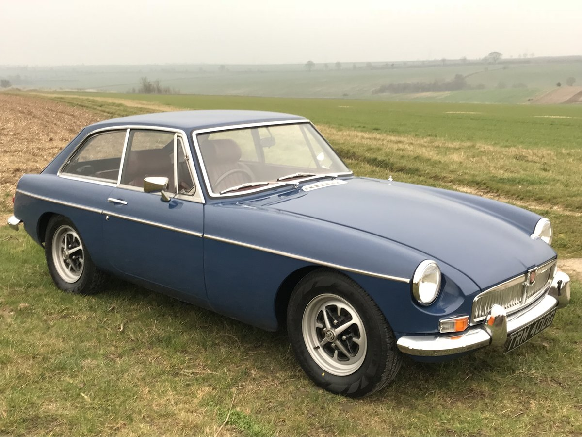 1970 MGB GT Fully rebuilt on new Heritage bodyshell  For Sale (picture 7 of 10)