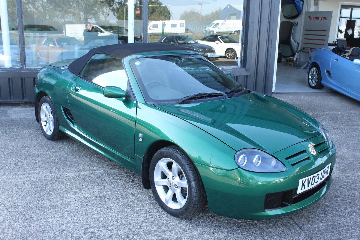2003 MG TTF 135,FSH,39000 MLS,NEW HEADGASKET,BELT&PUMP For Sale (picture 5 of 6)