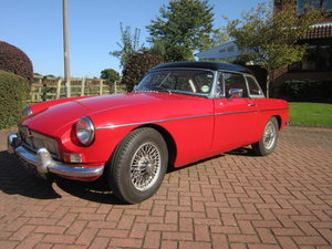 1965 MGB roadster Mk1 with works hardtop For Sale