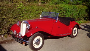 1953 MG TD UK CAR For Sale