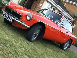 1978 Mgb Gt 1.8 in blaze red For Sale