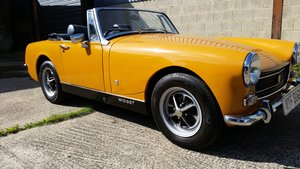 1973/M MG Midget 1275cc recently restored. For Sale