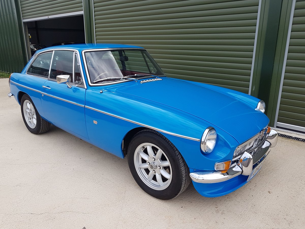 1979 MGB GT. Recent Restoration. 2 Ltr. 5 Speed. Stunning car SOLD (picture 1 of 6)