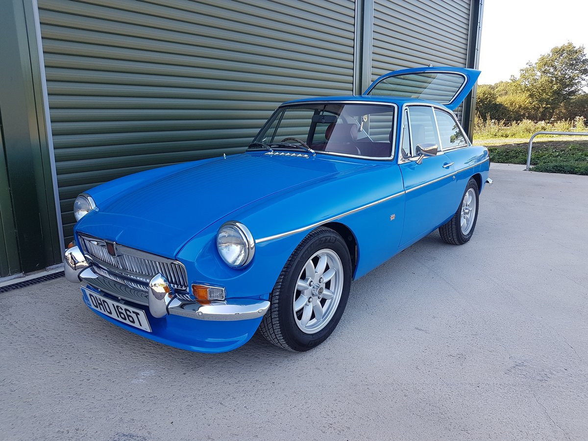 1979 MGB GT. Recent Restoration. 2 Ltr. 5 Speed. Stunning car SOLD (picture 2 of 6)
