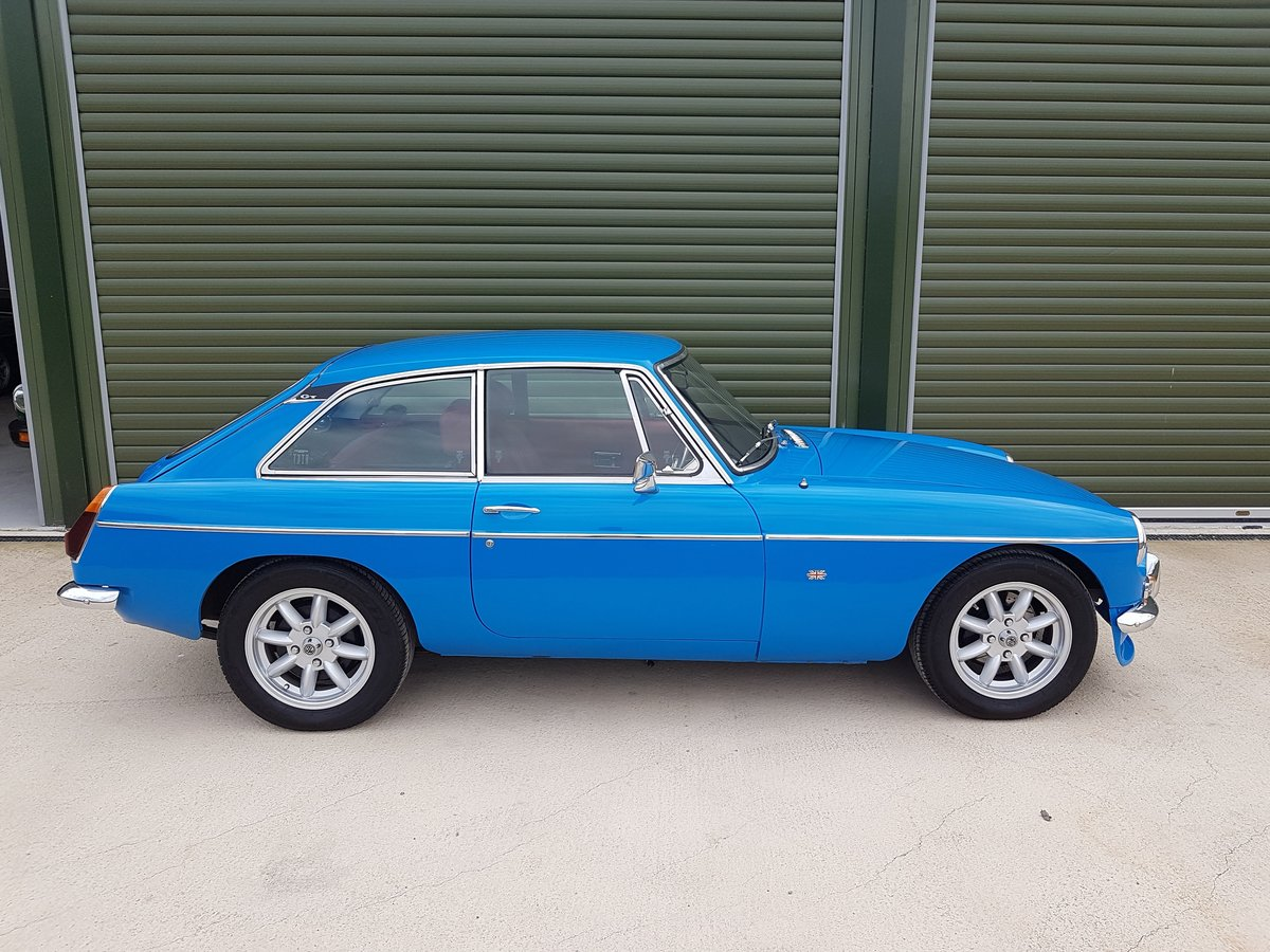 1979 MGB GT. Recent Restoration. 2 Ltr. 5 Speed. Stunning car SOLD (picture 3 of 6)