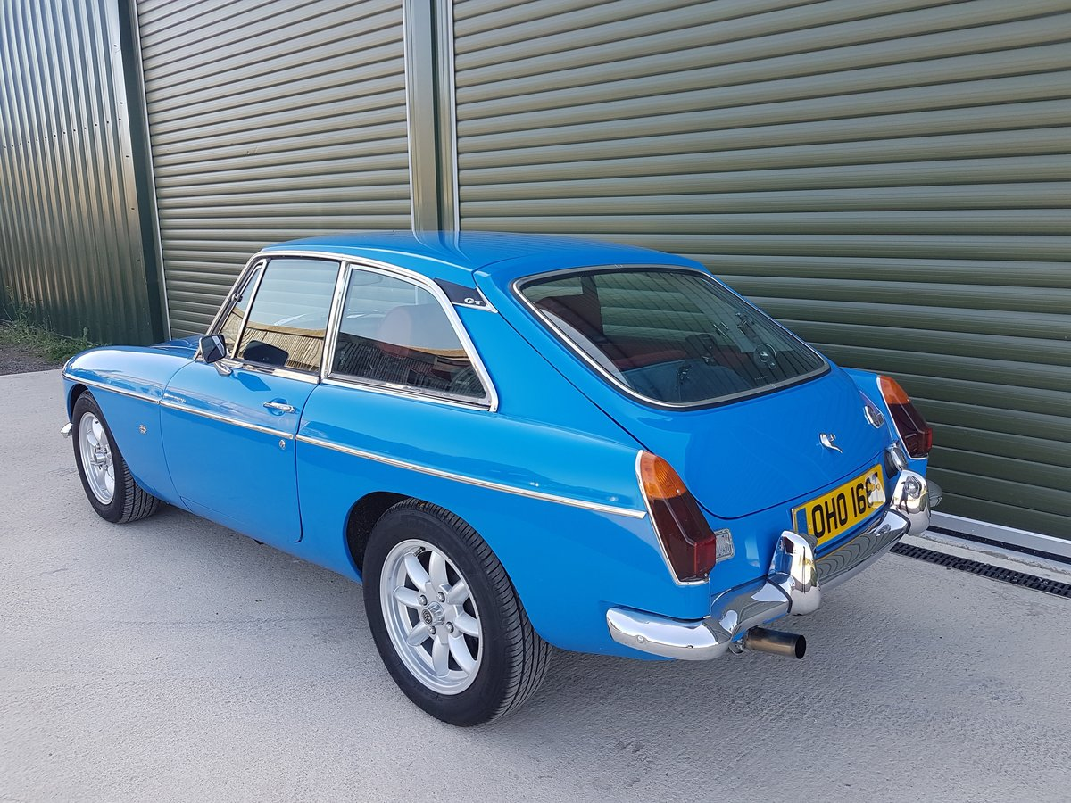 1979 MGB GT. Recent Restoration. 2 Ltr. 5 Speed. Stunning car SOLD (picture 4 of 6)