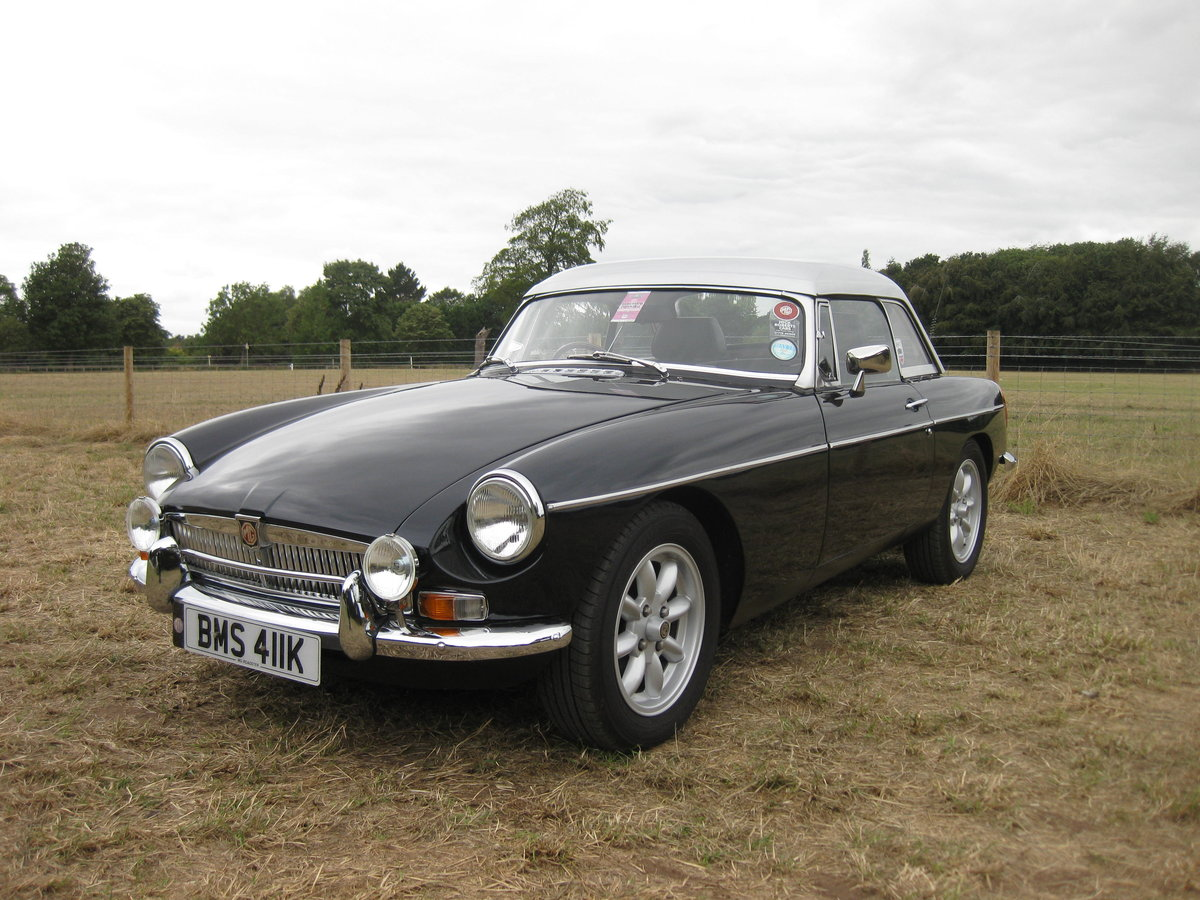 1972 MGB V8 Roadster For Sale (picture 1 of 6)