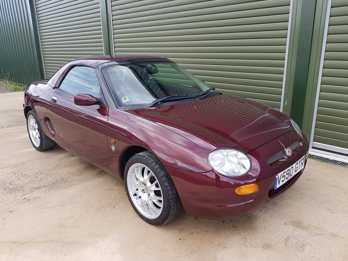 1999 MGF 75 LE 1.8i Limited Edition SOLD (picture 1 of 6)