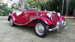 1952 MGTD 1250 SPORTS CONVERTIBLE TOURER For Sale