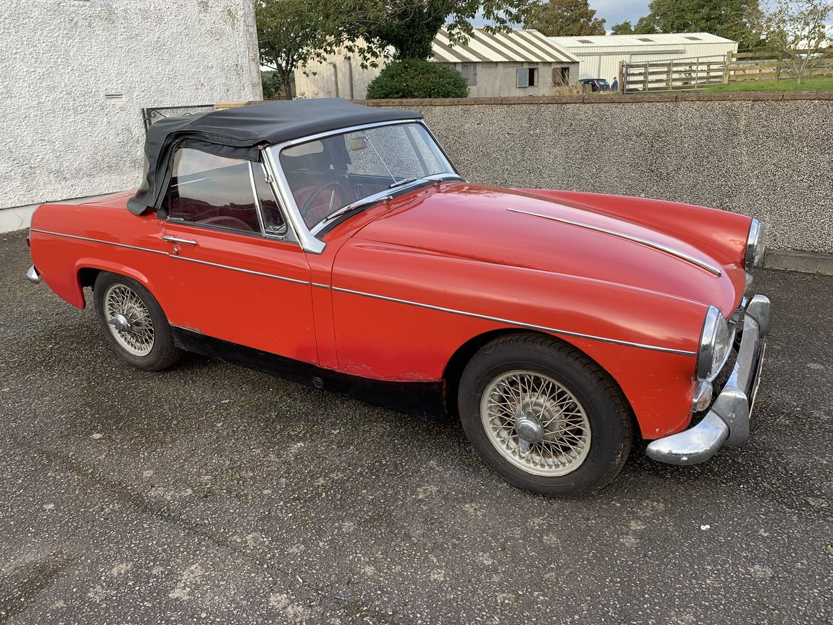 1965 MG Midget only 2 owners 45k miles For Sale (picture 1 of 5)