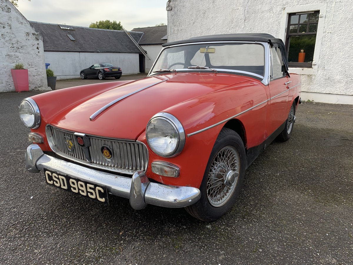 1965 MG Midget only 2 owners 45k miles For Sale (picture 2 of 5)